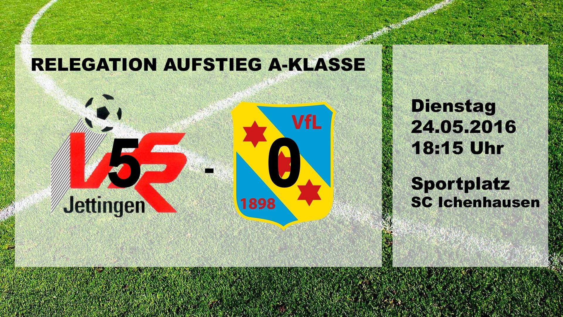 Relegation II. Manschaft